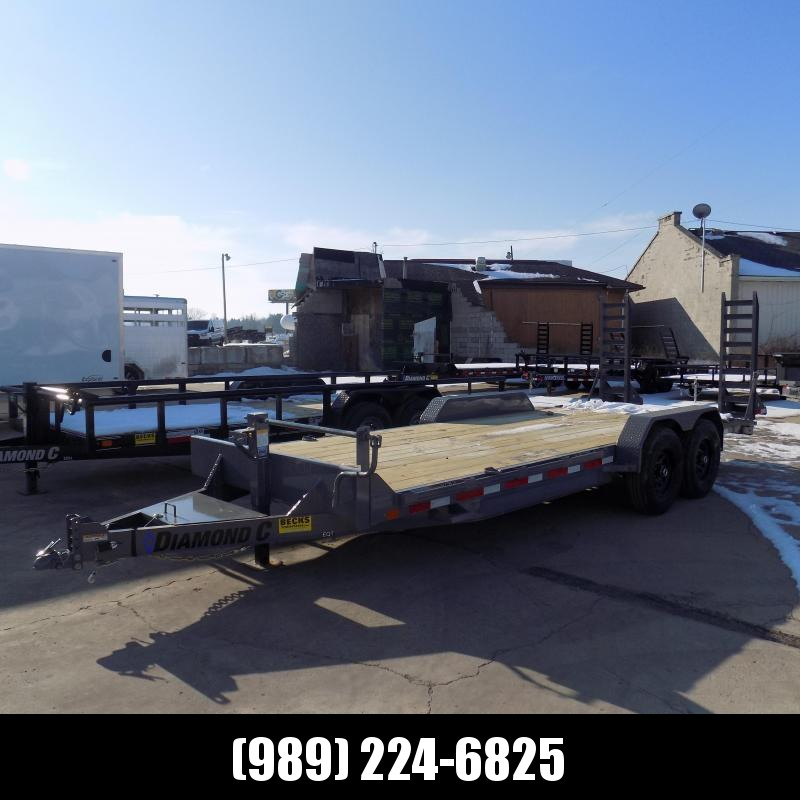 "New Diamond C Trailers 82"" x 20' Equipment Trailer For Sale - Flexible Financing Options From $99/mo. W.A.C."