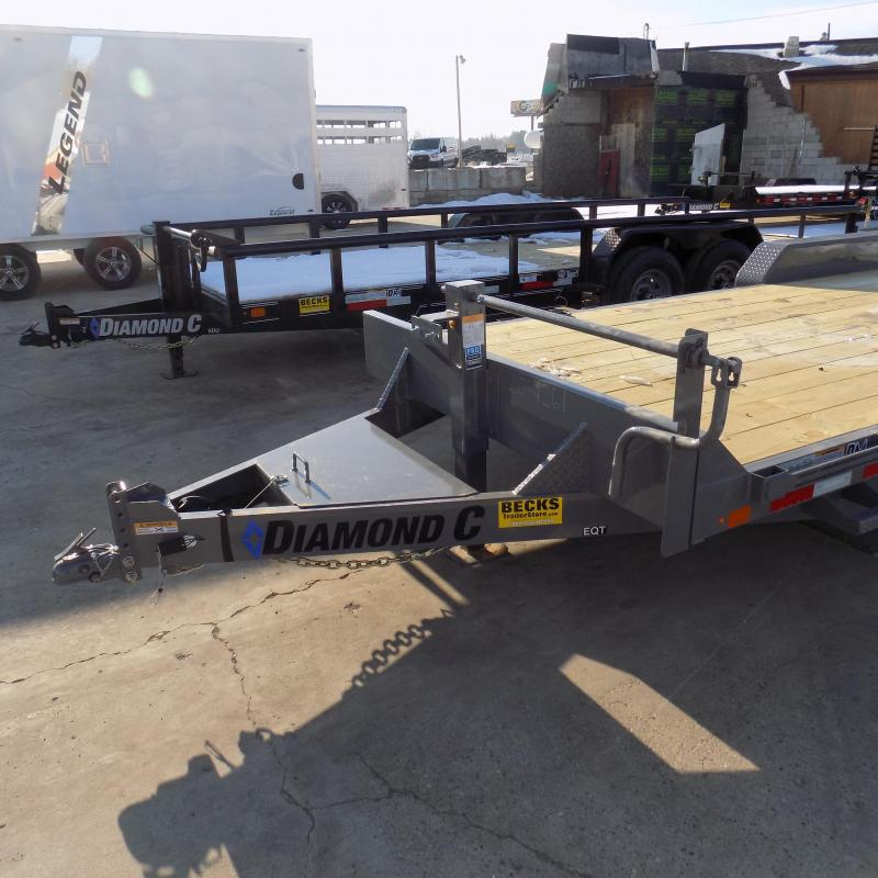"""New Diamond C Trailers 82"""" x 20' Equipment Trailer For Sale - Flexible Financing Options From $99/mo. W.A.C."""