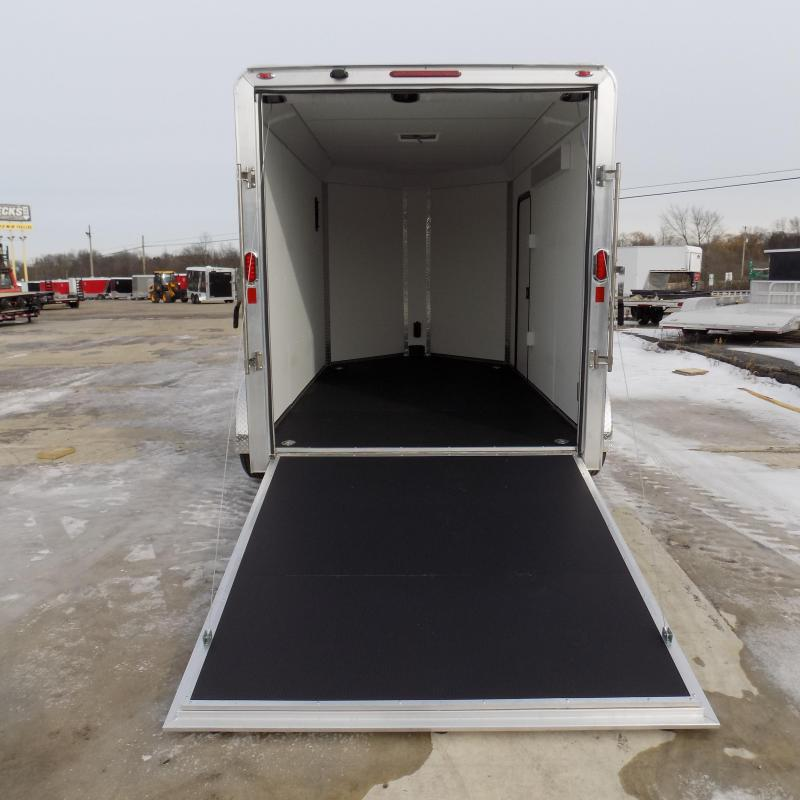 New Legend Trailers Deluxe V Nose 7' x 15' Aluminum Enclosed Cargo Trailer for Sale- $0 Down Payments From $127/mo. W.A.C