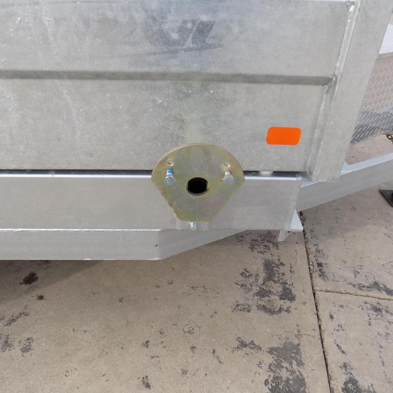 """New Galvanized 80"""" x 16' Triple Axle Dump Trailer with 24K Telescopic Lift - $0 Down & Payments From $169/mo. W.A.C."""