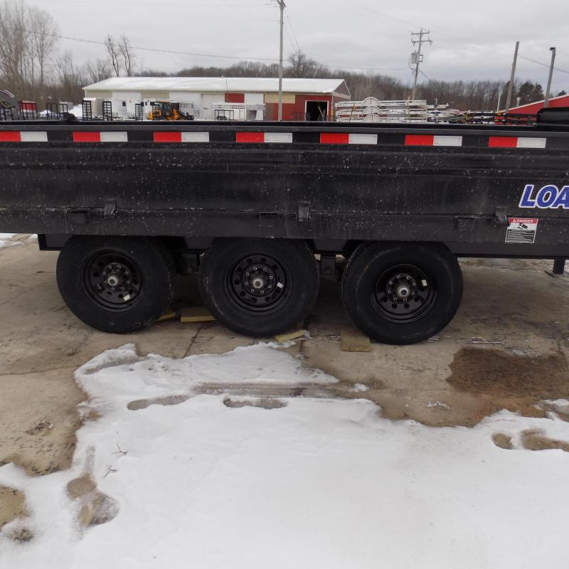 """New Load Trail 96"""" x 16' Triple Axle Deck Over Dump  - $0 Down & Payments From Payments From $139/mo. W.A.C."""