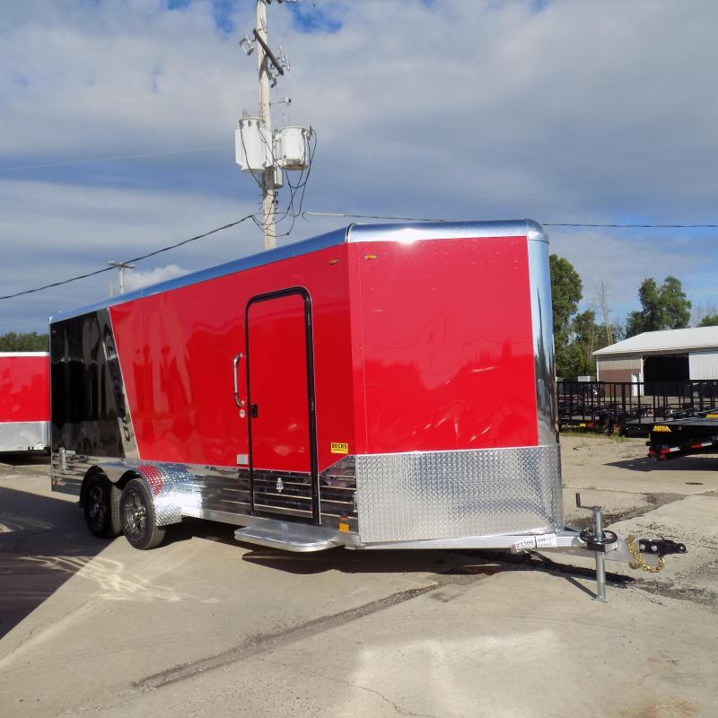 Legend Deluxe V Nose 7' X 21' Enclosed Cargo Trailer For Sale