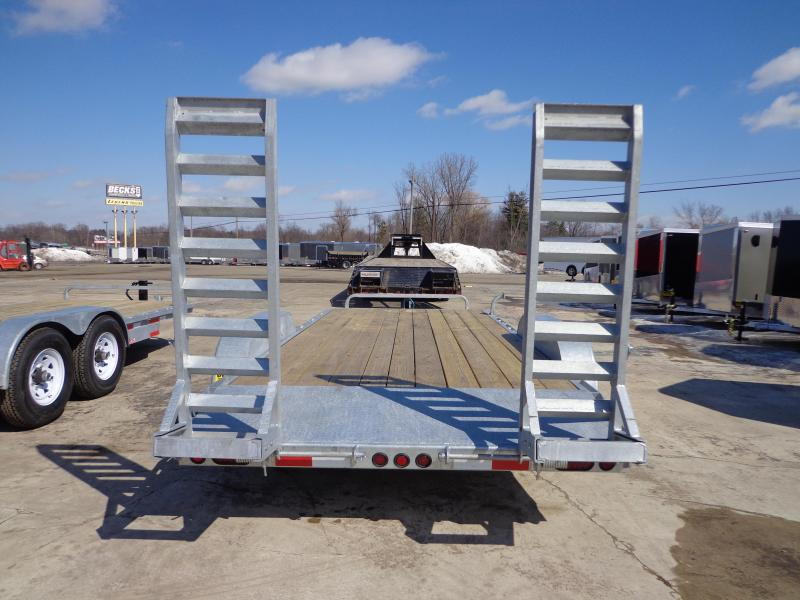 "New Galvanized 83"" x 18' Open Car Hauler! EASY FINANCING CALL FOR BEST DEAL GUARANTEE!!!"