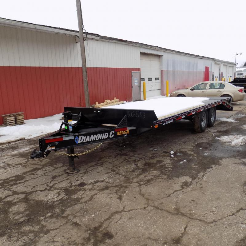 "New Diamond C Trailers 102"" x 20' Deckover Equipment Trailer For Sale - Payment From $119/mo. With $0 Down W.A.C."