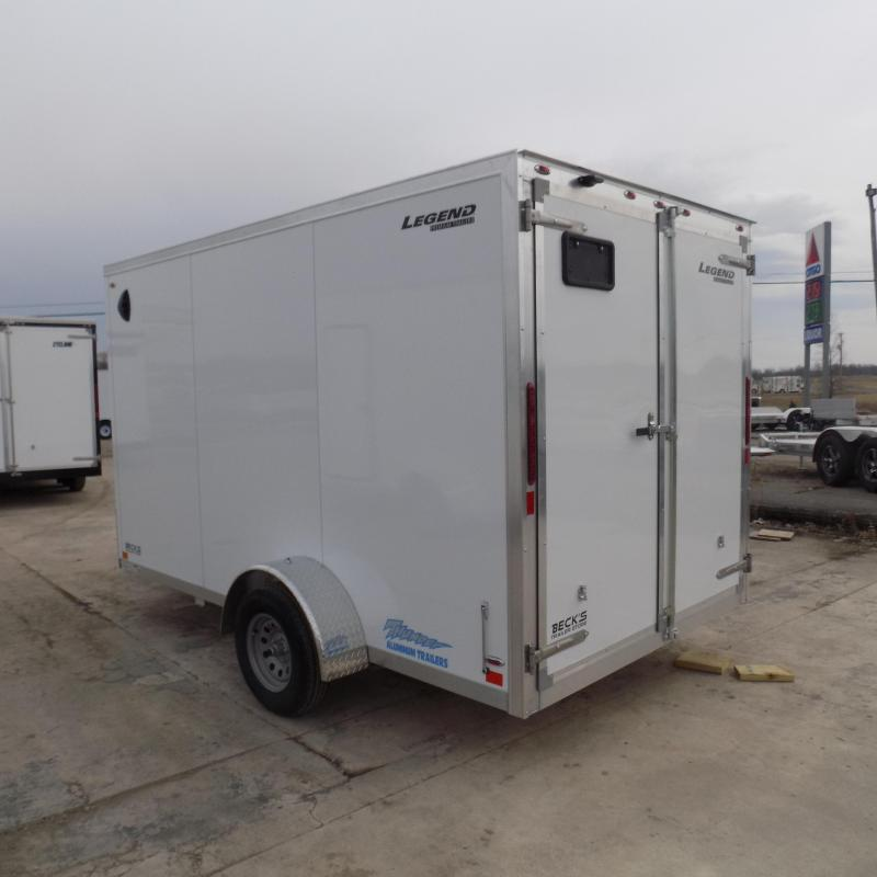 New Legend Thunder 7' x 14' Aluminum Enclosed Cargo For Sale - $0 Down Payments From $99/mo. W.A.C
