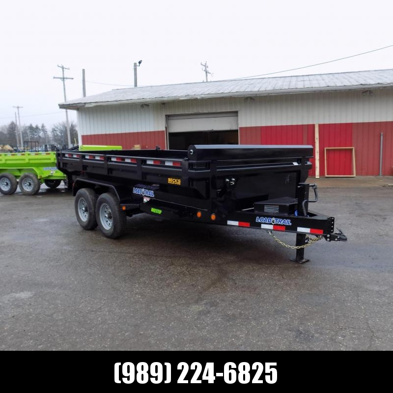 "New Load Trail 83"" x 14' Dump Trailer - Flared Sides - Payments from $129/mo. with $0 Down W.A.C."