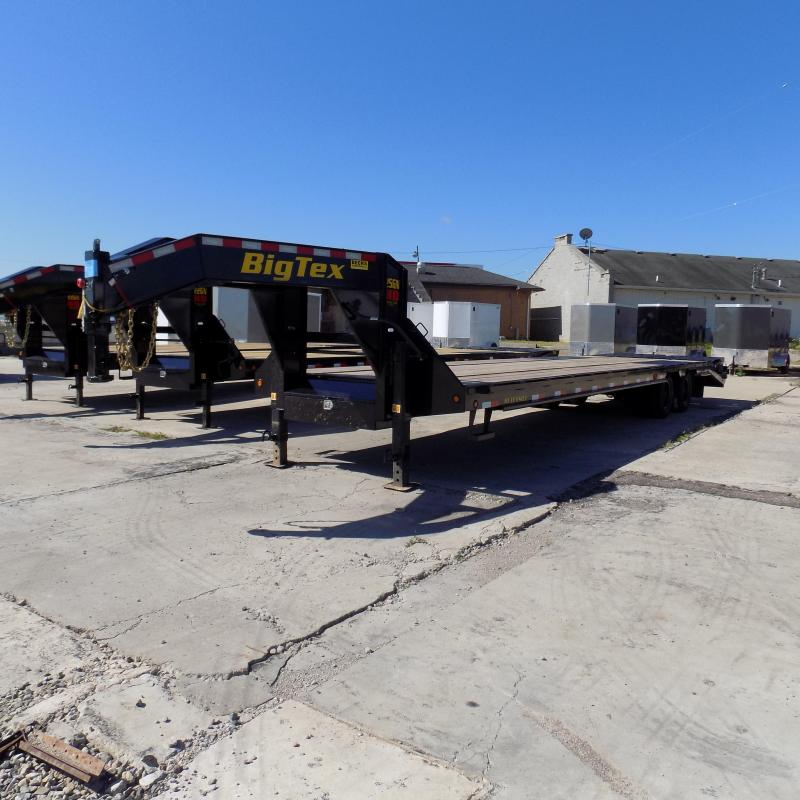 "New Big Tex 102"" x 30' + 5' Gooseneck Trailer With MEGA Ramps"