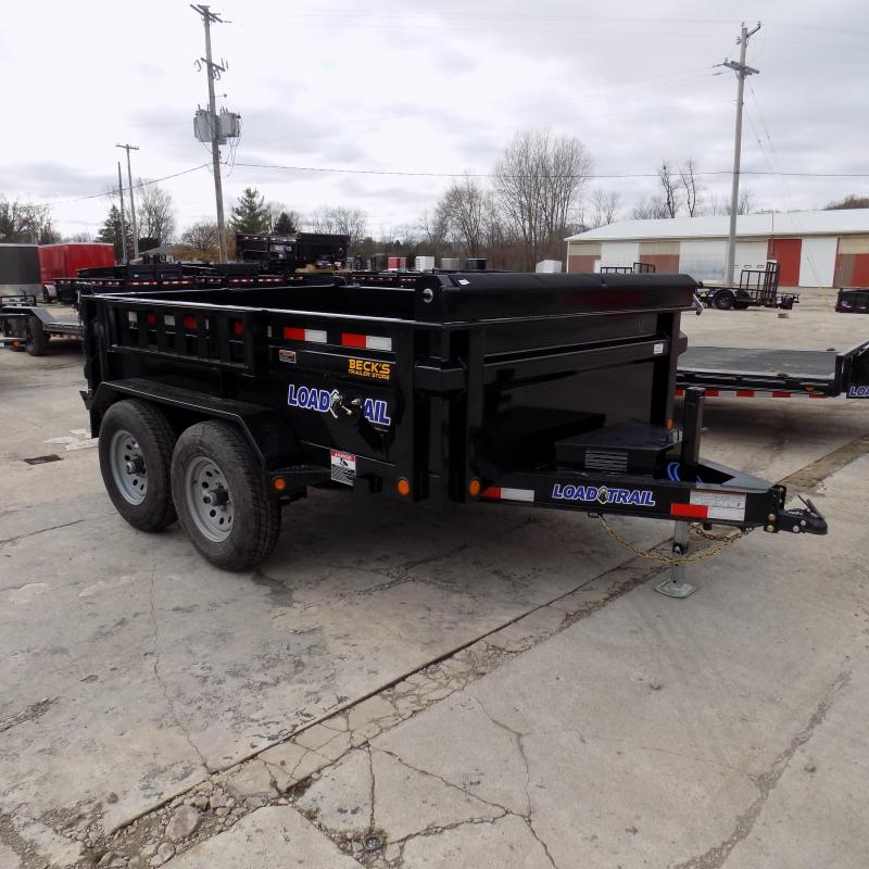 "New Load Trail 83"" x 10' Dump Trailer For Sale - $0 Down & Payments From $125/mo. W.A.C."