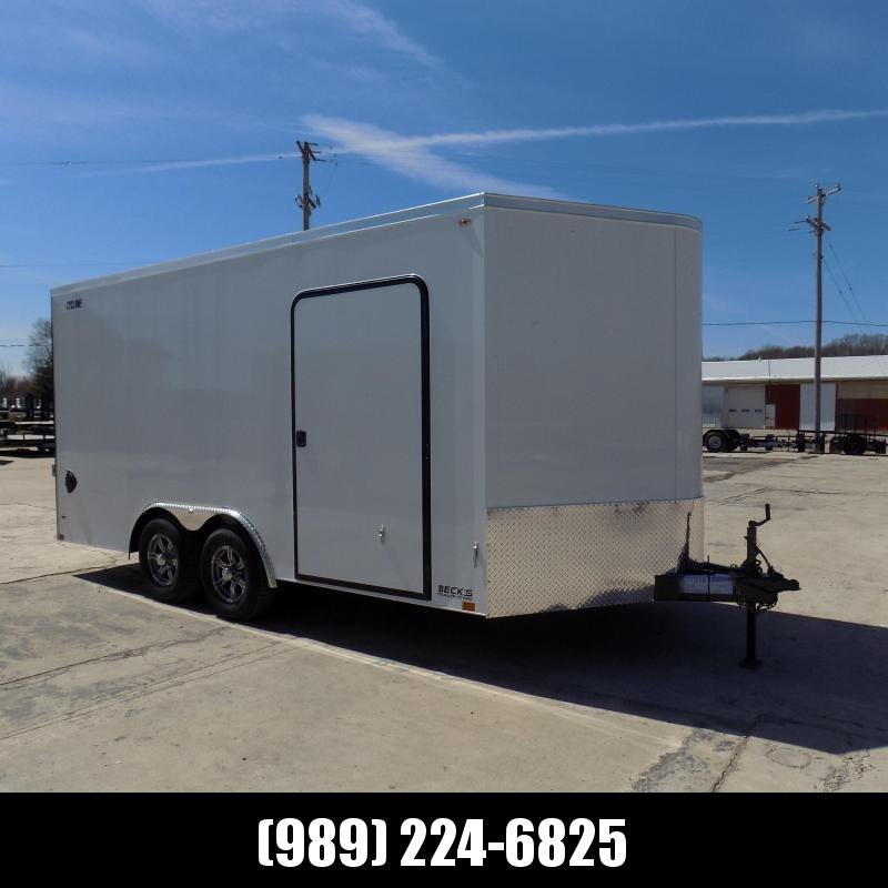 New Legend Cyclone 8.5' x 18' Enclosed Car Hauler / Cargo Trailer for Sale - $0 Down Payments From $110/mo W.A.C.