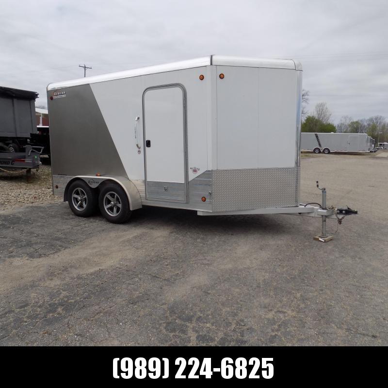 Used Legend Deluxe 7' x 14' Aluminum Enclosed Cargo Trailer - Great Condition!