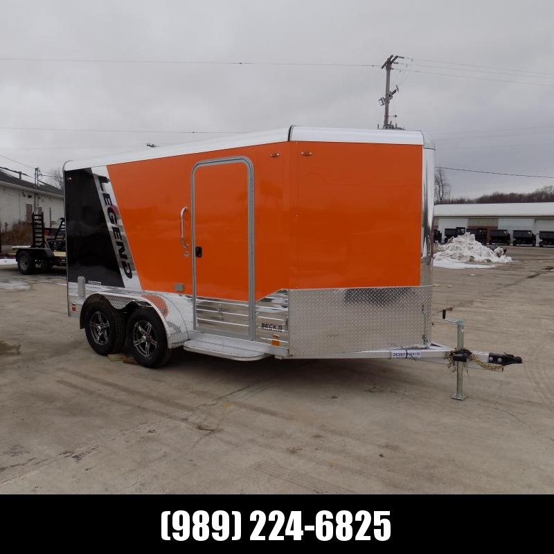 New Legend Deluxe V Nose 7' X 15' All Aluminum Cargo Trailer For Sale - $0 Down & Payments from $125/mo. W.A.C.