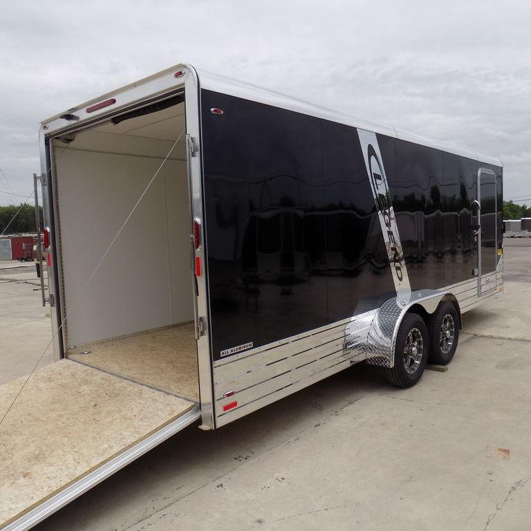 New Legend Deluxe V Nose 7' x 21' Enclosed Cargo Trailer -Payments $159