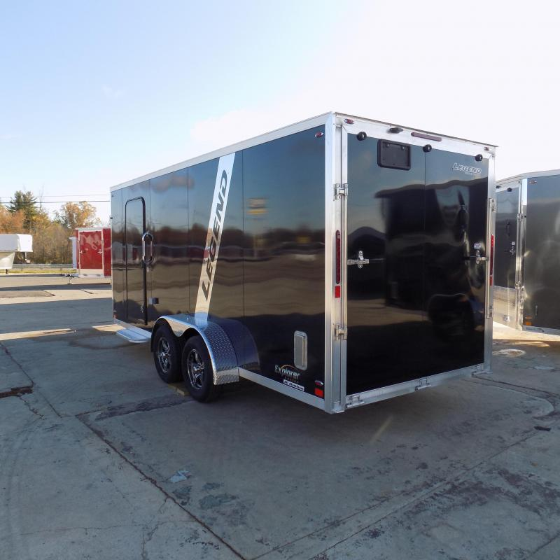 New Legend Explorer 7' x 23' Snowmobile Trailer - $0 Down & Payments From $145/mo. W.A.C - Guaranteed Best Deal