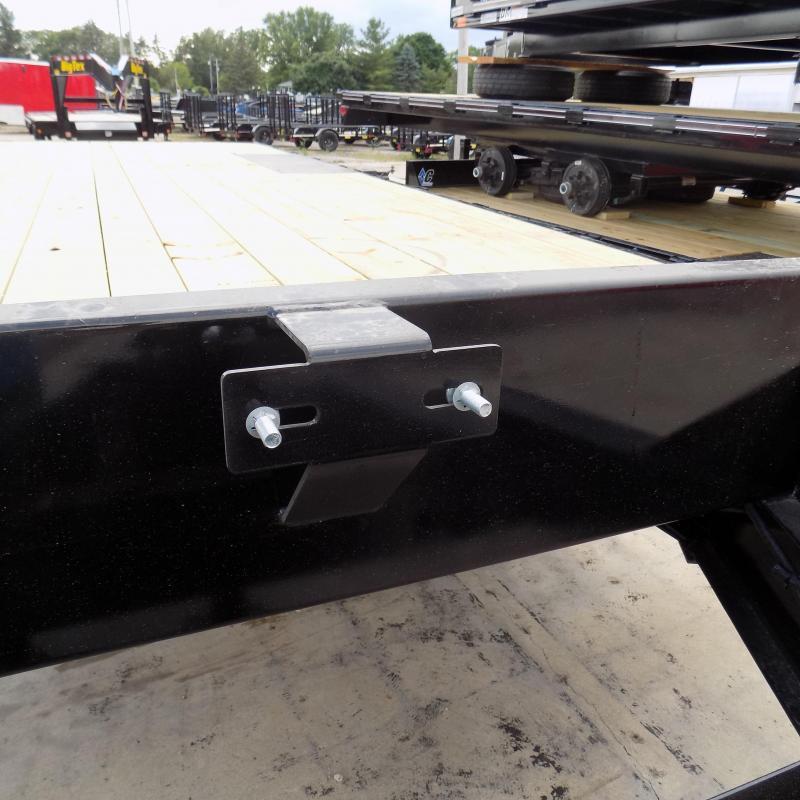 "New Diamond C Trailers 102"" x 20' Deckover Equipment Trailer W/ 7K Torsion Axles"