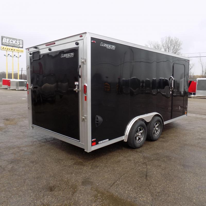 New Legend FTV 8' x 19' Heavy Duty Aluminum Trailer - $0 Down & Payments From $119/mo. W.A.C.
