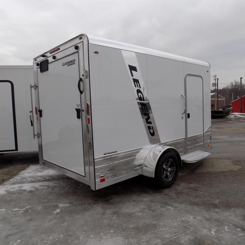 New Legend Trailers Deluxe V Nose 7' X 15' All Aluminum Enclosed Cargo Trailer- $0 Down Payments from $137/mo W.A.C