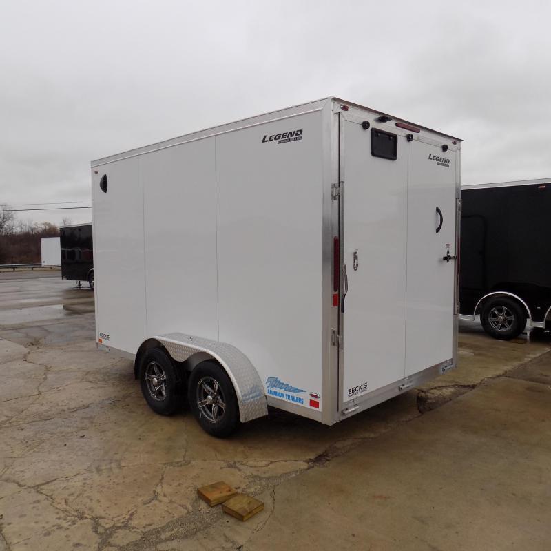 New Legend Thunder V Nose 7' X 14' Enclosed Cargo Trailer For Sale - $0 DOWN 100/MO W.A.C.