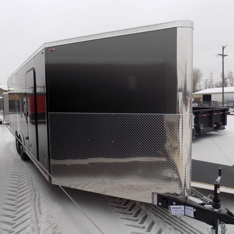 New Legend Trailmaster V-Nose 8.5' x 28' Aluminum Enclosed Car Hauler / All Sports Trailer