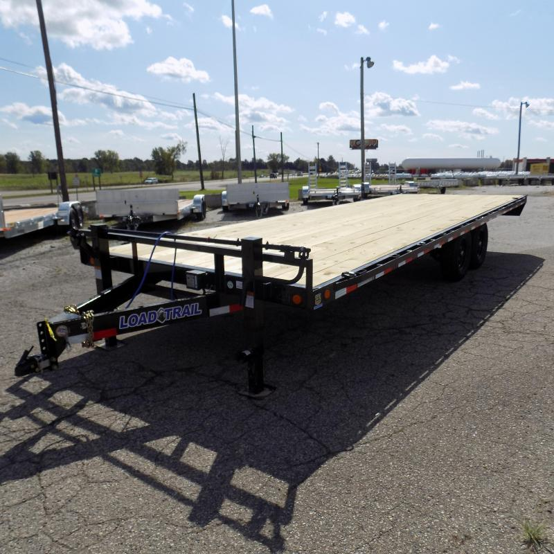 """New Load Trail DK14 102"""" x 24' Deckover Trailer For Sale - Payment from $129/mo. W.A.C."""