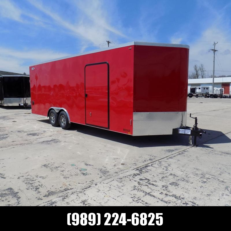 New Legend Cyclone 8.5' x 24' Enclosed Cargo Trailer For Sale- $0 Down Payments From $119/mo W.A.C.