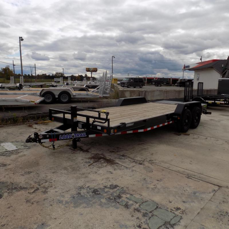 """New Load Trail 83"""" x 20' Car/Equipment Trailer w/ MAX Ramps - $0 Down & Payments From $129/mo. W.A.C."""