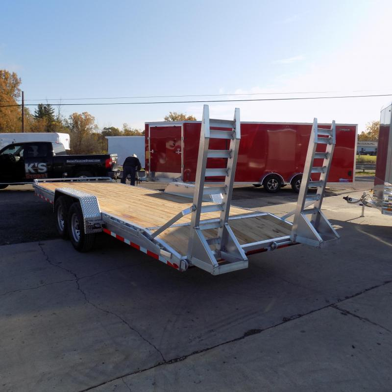 New Legend 7' x 24' Aluminum Equipment Trailer For Sale - Payment from $145/mo. w/ $0 Down W.A.C.