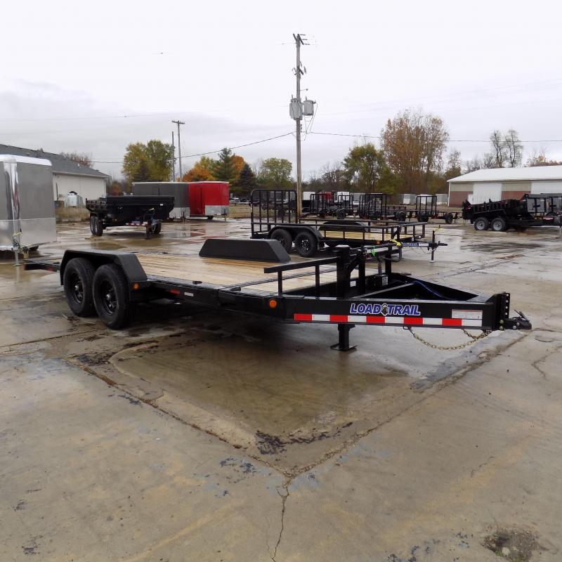 """New Load Trail TH14 83"""" x 18' Tilt Deck Trailer w/ 7K Torsion Axles - $0 Down & Payment From $129/mo. W.A.C."""