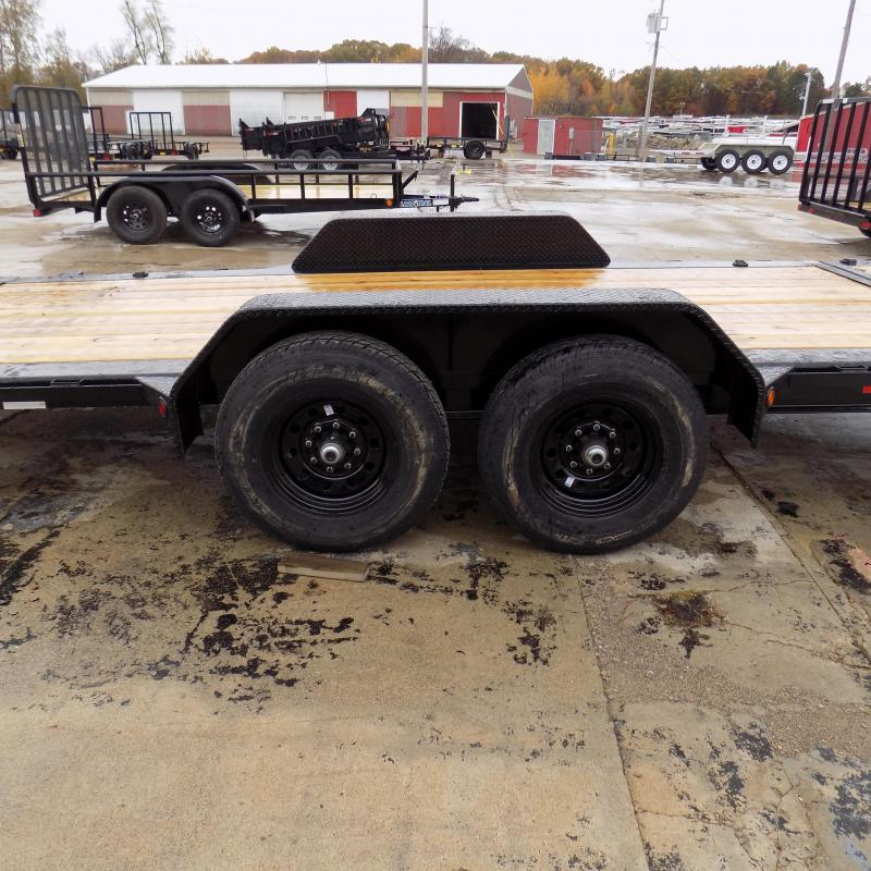 "New Load Trail TH14 83"" x 18' Tilt Deck Trailer w/ 7K Torsion Axles - $0 Down & Payment From $129/mo. W.A.C."