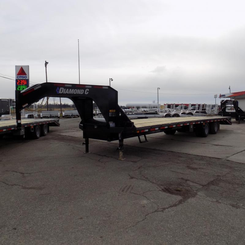 "New Diamond C Trailers 102"" x 35' Gooseneck Trailer - 25,900# Weight Rating - $0 Down Financing Available"