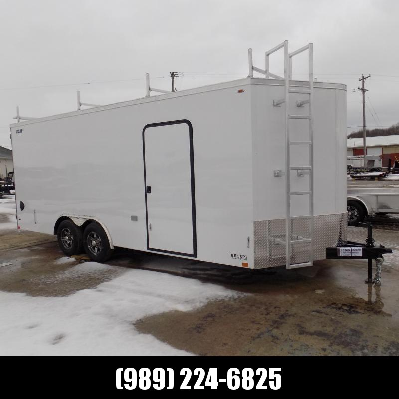 New Legend Cyclone 8.5' x 22' Enclosed Cargo Trailer for Sale- $0 Down Financing Available