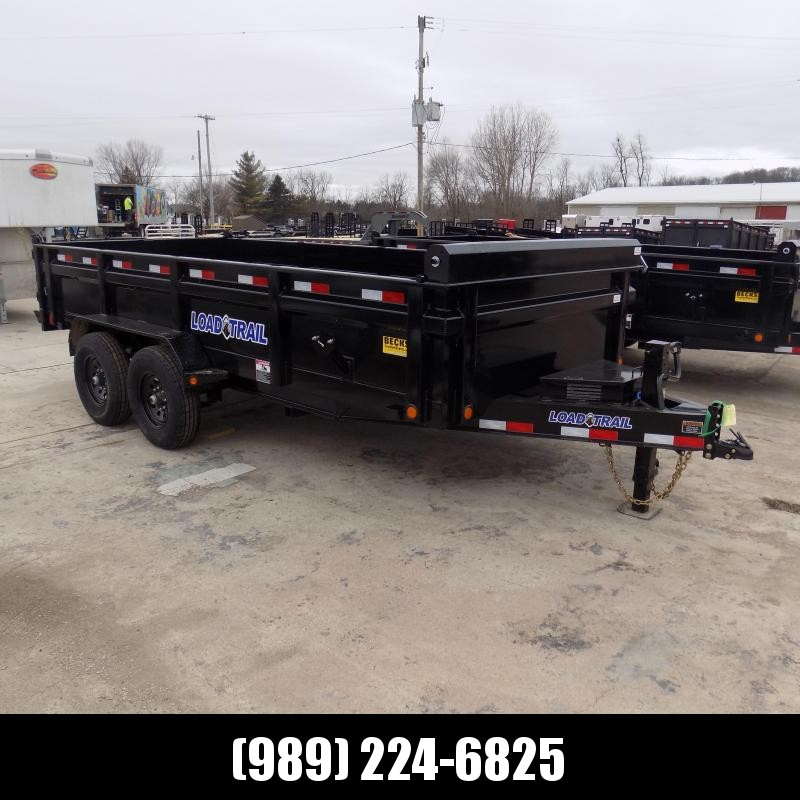 """New Load Trail DT16 83"""" x 16' Dump Trailer for Sale - Payments from $119/mo. W.A.C."""