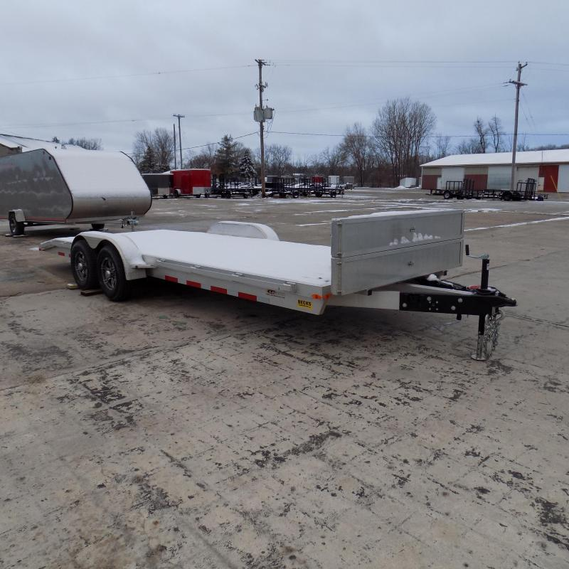 Used 2019 Legend 7' x 22' Aluminum Open Car Hauler For Sale - Like New!