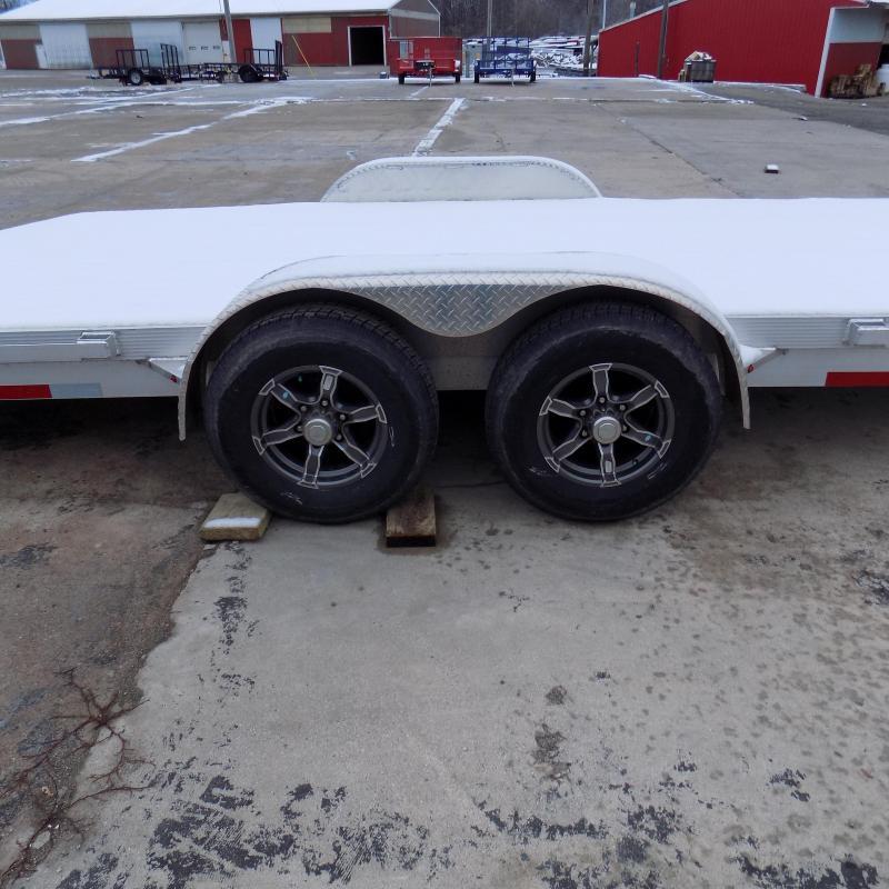 Used 2019 Legend 7' x 22' Aluminum Open Car Hauler For Sale - Like New!
