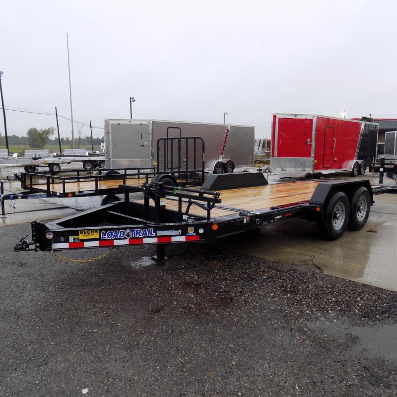"""New Load Trail TH14 83"""" x 18' Tilt Deck Trailer For Sale With 7000# Axles"""