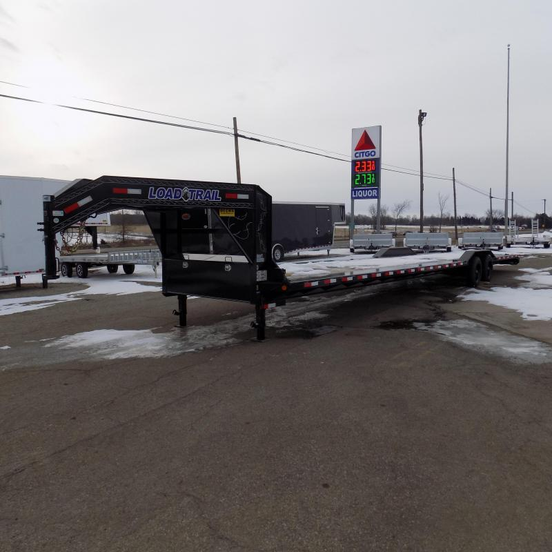 """New Load Trail 102"""" x 40' Tandem Axle 10"""" I-Beam Frame Gooseneck Equipment Hauler   - $0 Down & Payments From $160/Mo W.A.C."""