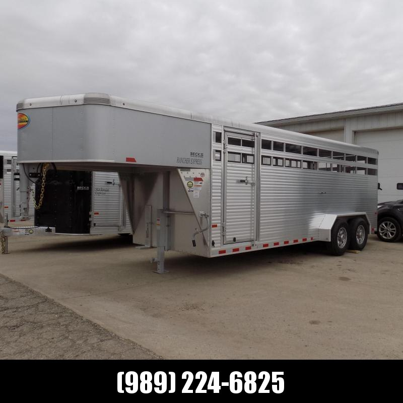 New Sundowner Trailers 20' Aluminum Stock Trailer - $0 Down & Payments From $179/mo. W.A.C.