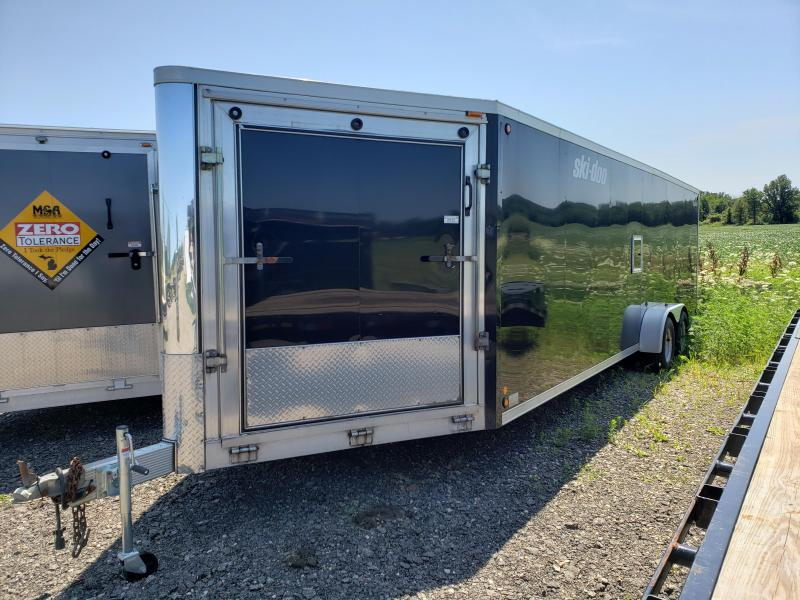 Used Legend Trailmaster 7' x 29' Aluminum Snowmobile Trailer For Sale