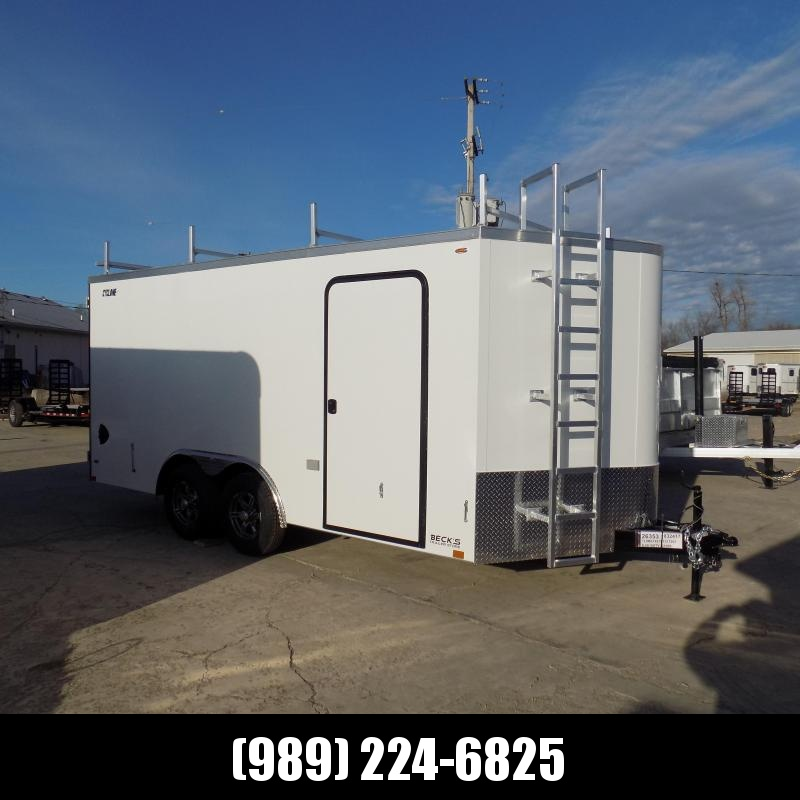 New Legend Cyclone 8.5' x 18' Enclosed Car Hauler / Cargo Trailer for Sale - $0 Down  Payment From $117/Month W.A.C.
