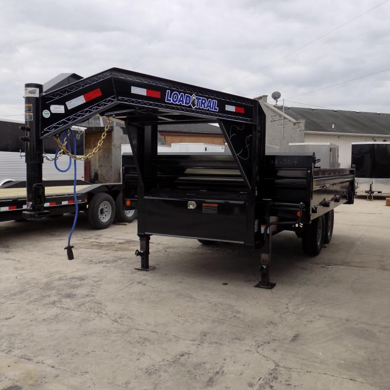 "New Load Trail 96"" x 14' Gooseneck Dump Trailer For Sale"