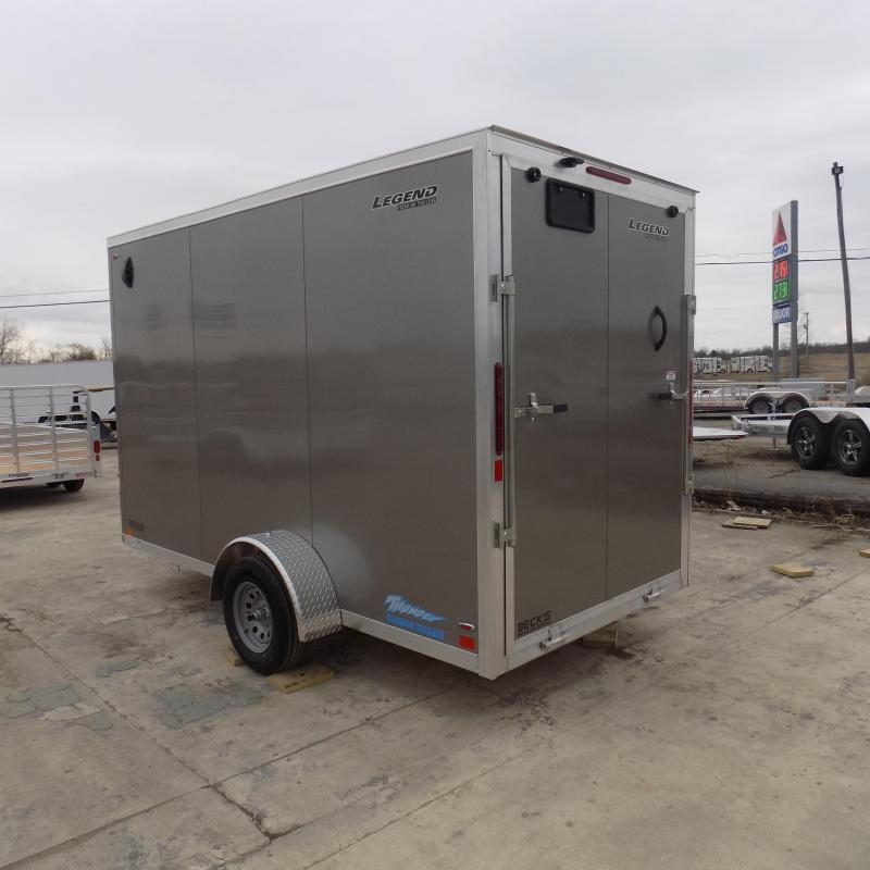 New Legend Thunder 6' x 13' Aluminum Enclosed Cargo Trailer for Sale- $0 Down Payments From $99/Mo W.A.C.
