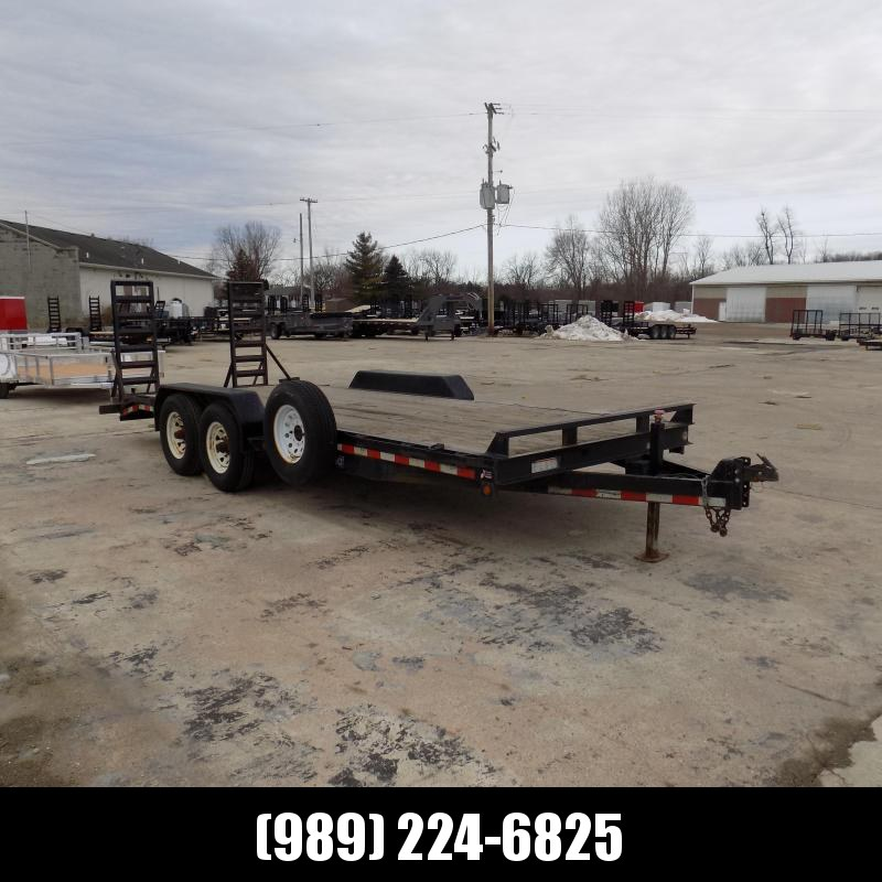 """Used Sure-Trac 83"""" x 20' Open Car Hauler for Sale"""