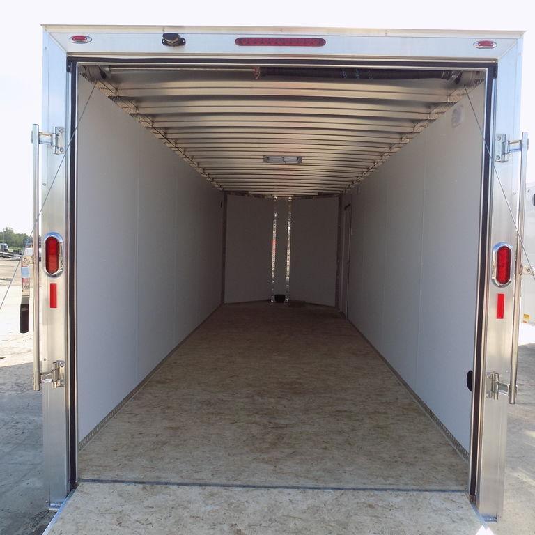 New Legend FTV 7' X 23' Aluminum Enclosed Cargo Trailer For Sale  BECKS HAVE THE BEST DEAL GUARANTEE! FITS 2 UTV's
