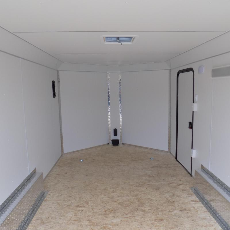 New Legend Deluxe V-Nose 8' x 17' Enclosed Cargo Trailer - Payments From $139/mo. W.A.C
