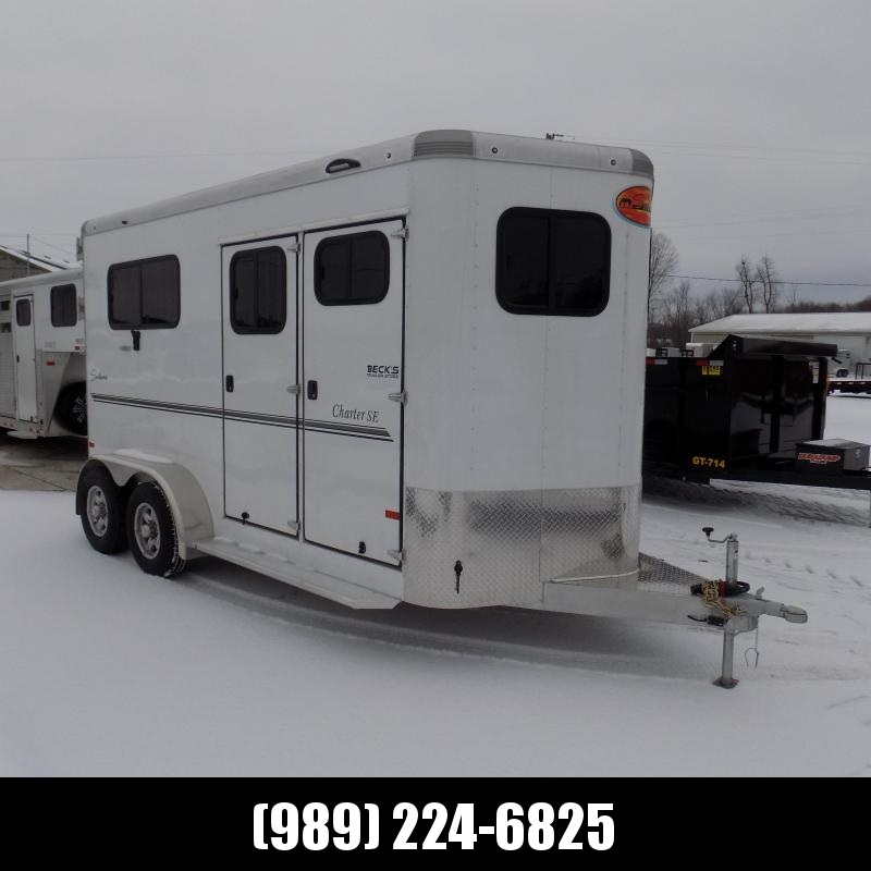 New Sundowner Trailers Charter TR Aluminum Straight Load 2 Horse Trailer - $0 Down & $197/mo. W.A.C.