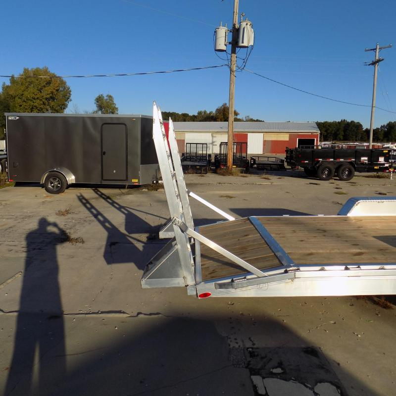 New Legend 7' x 24' Aluminum Equipment Trailer For Sale - Payment from $138/mo. w/ $0 Down W.A.C.