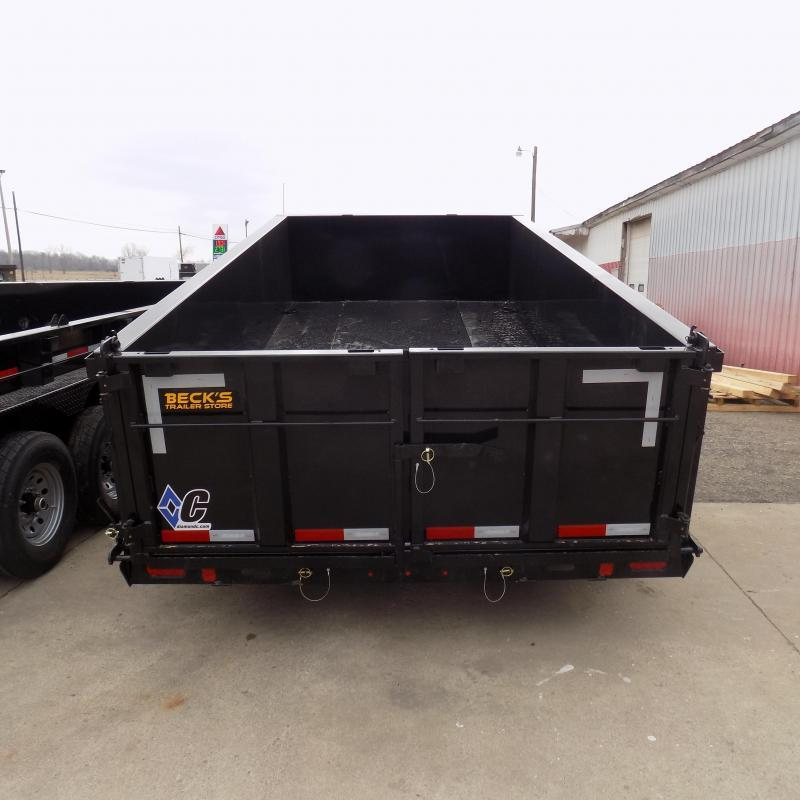 """New Diamond C 82"""" x 14' Low Profile Dump Trailer For Sale - $0 Down & Payments from $142/mo. W.A.C."""