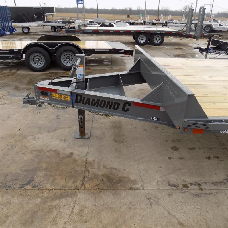 """New Diamond C Trailers 102"""" x 24' Deckover Equipment Trailer For Sale - Payment From $124/mo. With $0 Down W.A.C."""