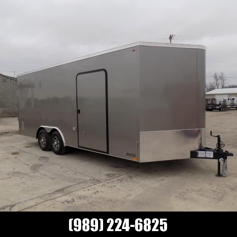 New Legend Cyclone 8.5' x 22' Enclosed Car Hauler / Cargo Trailer for Sale- $0 Down Payments From $130/Mo W.A.C.