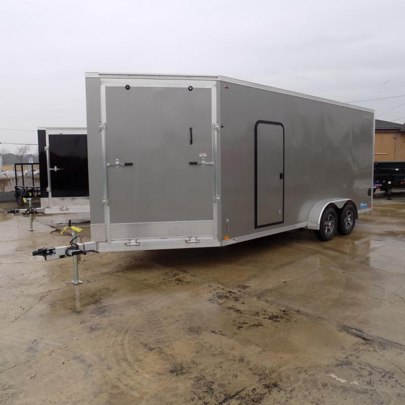 New Legend Thunder 7' x 23' Aluminum Snowmobile Trailer - $0 Down & Payments From $129/mo. W.A.C. - Best Deal Guarantee