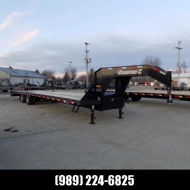 """New Diamond C Trailers 102"""" x 40' Gooseneck Trailer - 25,900# Weight Rating & 60"""" Spread HDSS Suspension - $0 Down Financing Available"""